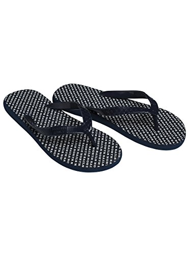 North Sails Mens Graphic Flip Flops Comfortable Feel in Combo of Rubber - 42 16EjIRO