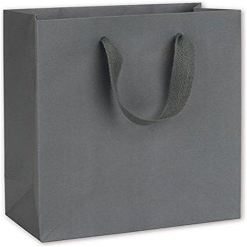 Empire State Grey Manhattan Eco Euro-Shoppers, 8 x 4 x 10