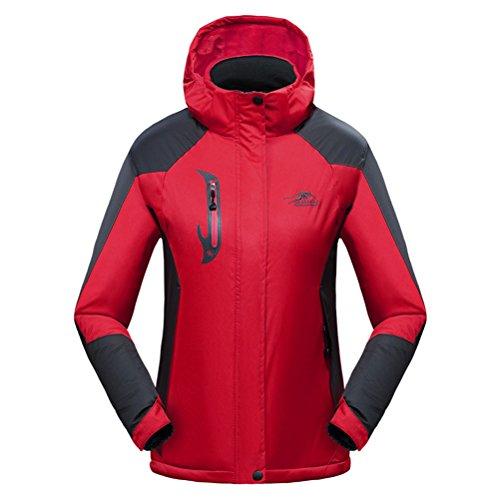 [WWL Fashion Unisex Waterproof Warm Jacket Fleece Windproof Ski Jacket Winter] (Male Figure Skater Costume)