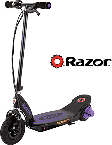 Razor Power Core E100 Electric Scooter - Purple (Girls Purple Electric Scooter)