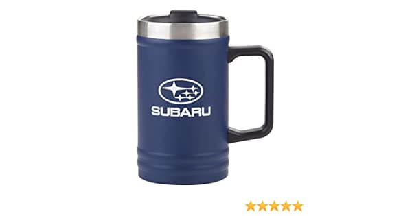 Message On A Bottle Cup Mug New Sti WRX Genuine Subaru Stainless Steel 24 oz