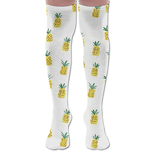 PINEAPPLE Women Knee High Socks High Thigh Stockings Over Knee High Boots Long Socks For Girls