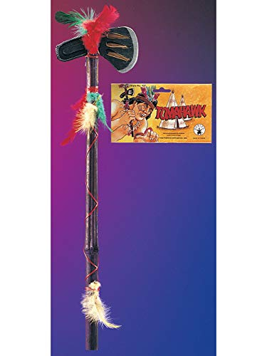 Rubies Native American Costume Hatchet - Colors May Vary