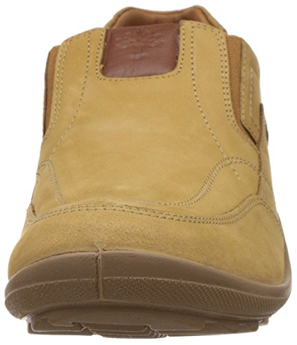 Woodland Mens Camel Leather Loafers and Mocassins - 6 UK/India (40 EU)