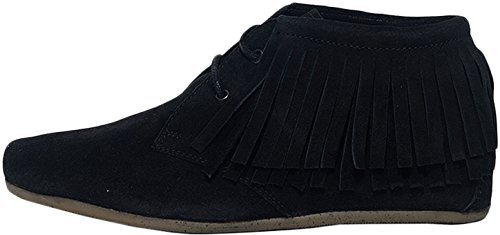maruti-womens-mimosa-womens-black-ankle-moccasin-boots-in-size-55-us-35-uk-36-eu-black