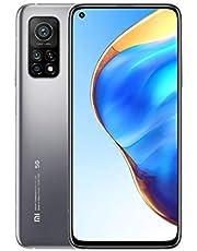 Xiaomi 10T Lite 5G Smartphone RAM 6GB ROM 128GB 64MP camera 120Hz 6.67'' Scherm 4820mAh (typ) accu 33W snel oplade NFC Grijs [Globale versie]