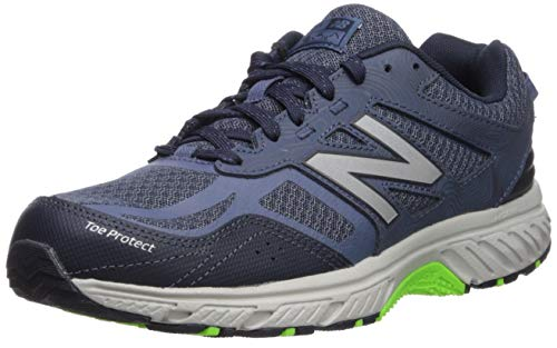 New Balance Men's 510v4 Cushioning Running Shoe, NORTH SEA/RGB GREEN, 8.5 XW US