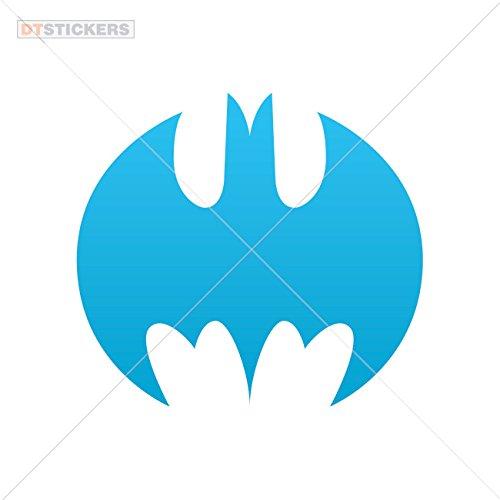 Bat Knight Attack Dark (Decoration Vinyl Stickers Vampire Bat Nightmare Decoration vinyl (10 X 9,07 In. ) Blue)