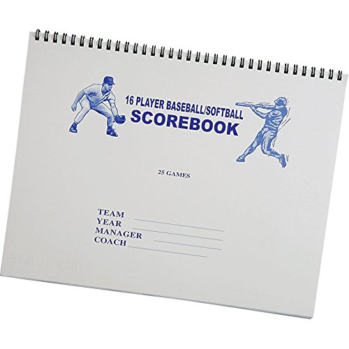 NEW Martin 16 Player, 25 Game Baseball Softball Game Scorekeepers Score book Martin Sports