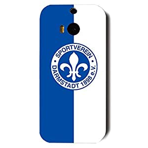SV Darmstadt 104 Logo Phone Case for Htc one m8 3D Hard Black Plastic Cover