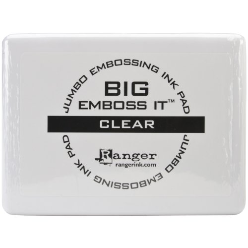 - Big & Bossy Embossing Pad #3-Clear