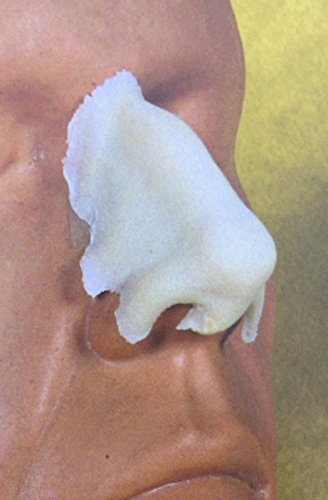 Rubber Wear Foam Latex Prosthetic - Large Aqualine Nose FRW-007 - Makeup Theater FX (Special Nose Art)