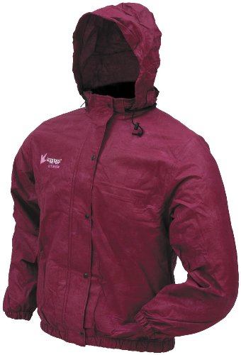 Frogg Toggs Pro Action Womans Rain Jacket Cherry Medium M - Jacket Cherry Womens