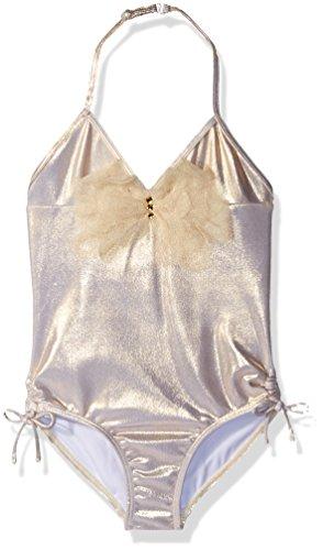 (Kate Mack Big Girls' Good As Gold Tank Swimsuit,)