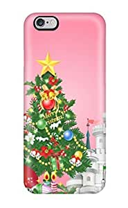 Durable Protector Case Cover With Holiday Christmas Hot Design For Iphone 6 Plus