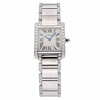 Cartier Tank Francaise Quartz Female Watch WE1002SF (Certified Pre-Owned) from Cartier