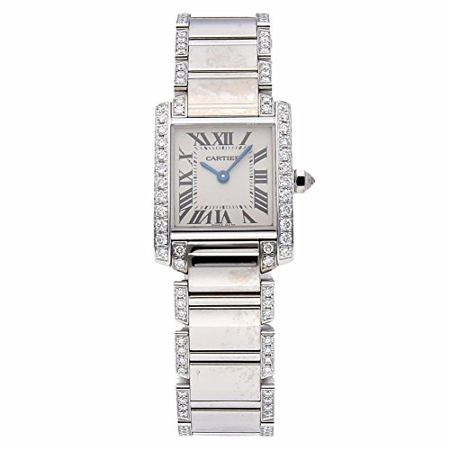 Cartier Tank Francaise Quartz Female Watch WE1002SF (Certified Pre-Owned)