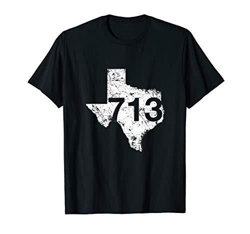 Houston Area Code 713 Shirt Texas Souvenir Gift Hometown