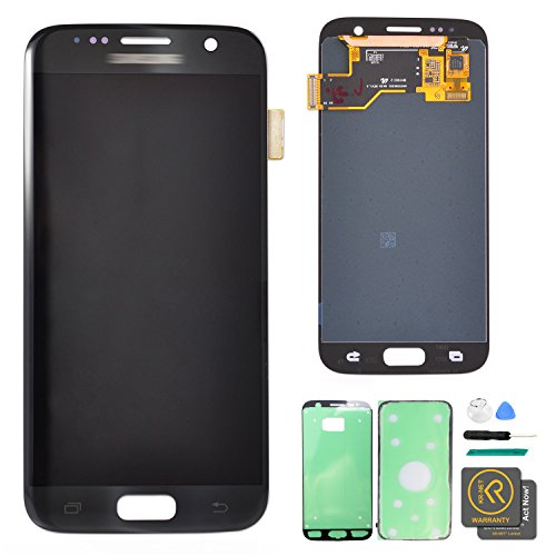 KR-NET LCD AMOLED Display Touch Screen Digitizer Assembly for Samsung Galaxy S7 SM G930 G930F G930A G930V G930P G930T G930R4 G930W8 (Black Onyx) + Tools by KR-NET (Image #9)