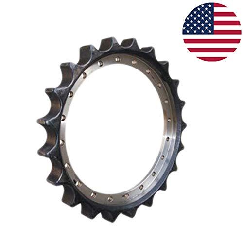 Undercarriage Parts Drive Sprocket 1010447 for Hitachi Excavator EX60 EX60-1 in USA