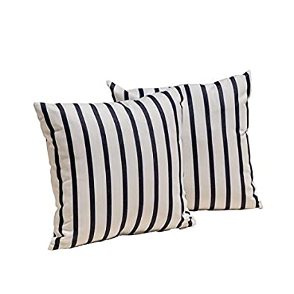 Amazon Sunbrella Lido Indigo Pillow Cover 40 X 40 Home Kitchen Interesting 16 X 20 Pillow Cover