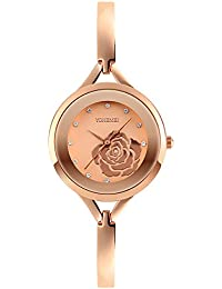 Timsty Women Watches Luxury Bracelet Watch Elegant Lady Quartz Wrist Watch
