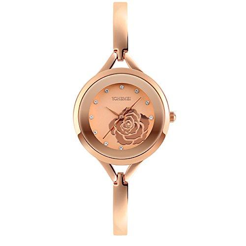 Timsty Women Watches Luxury Bracelet Watch Elegant Lady Quartz Wrist Watch