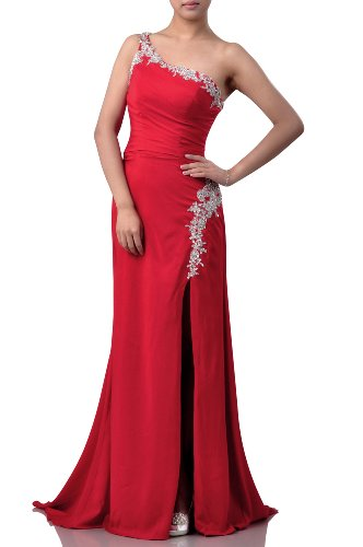 AdoronaDamen Kleid Rot - Rot