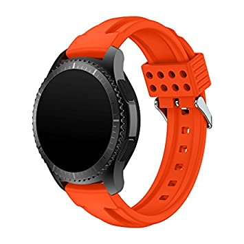 Reloj banda para Gear S3 frontera/Classic, suave silicona ...