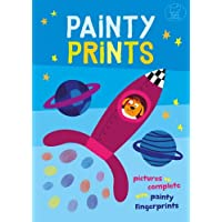 Painty Prints: Pictures to Complete with Painty Fingerprints