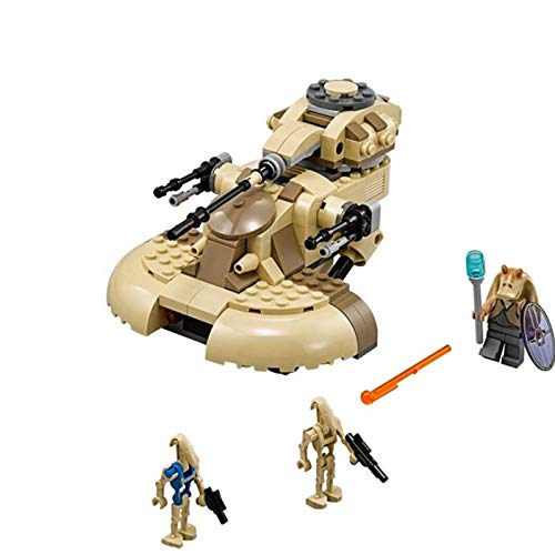 (Star Wars - Tanks Model Legoingly Star Wars Clone AAT Building Blocks Bricks Vulture Robot Compatible 75080 Toys for Children Birthday - by Orchilld - 1 PCs)