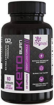 Keto Weight Loss Pills - Appetite Suppressant Diet Pills for Men and Women with BHB Salts - 60 Capsules