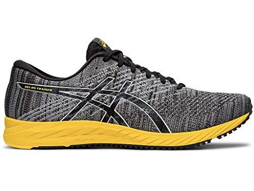 (ASICS Men's Gel-DS Trainer 24 Running Shoes, 11M, Black/TAI-CHI Yellow)