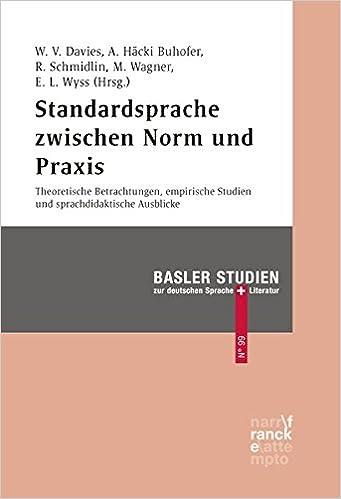 Book Standardsprache zwischen Norm und Praxis