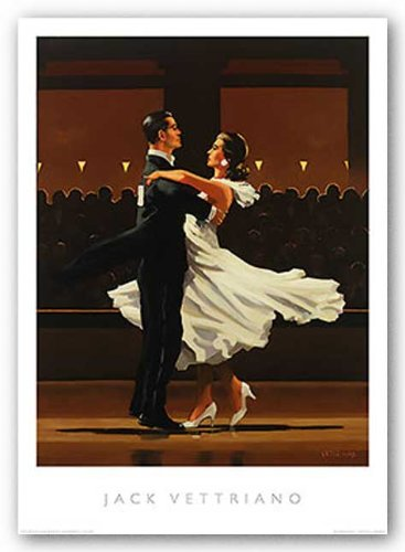 Take This Waltz by Jack Vettriano Art Print Poster Image