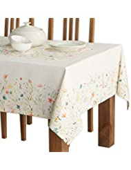 Maison d' Hermine Colmar 100% Cotton Tablecloth 60 - inch by 90 - inch.