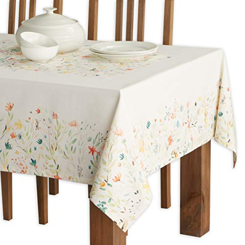 Maison d Hermine Colmar 100% Cotton Tablecloth 60 - inch by 90 - inch.