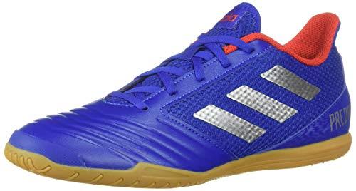 adidas Men's Predator 19.4 Indoor, Bold Blue/Silver Metallic/Active red 13.5 M US -