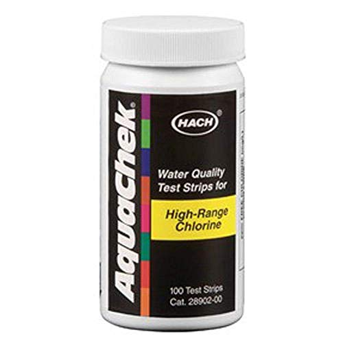 Aquachek 652013 High Range Chlorine Test Strips