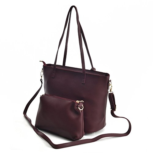 Bug Tote Faux 2 vk5408 Purses YOUNG Shoulder Large Leather Suede Ladies Set Bags Women SALLY Fashion Pieces 7pxanwzZqw