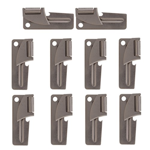 (10pc G I Original Military Army Issue P38 Can Opener)