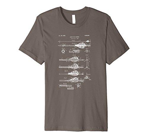 Mens Archery Arrows Vintage Design T-Shirt - Compound Bow Tee XL Asphalt - Arrow Jersey T-shirt