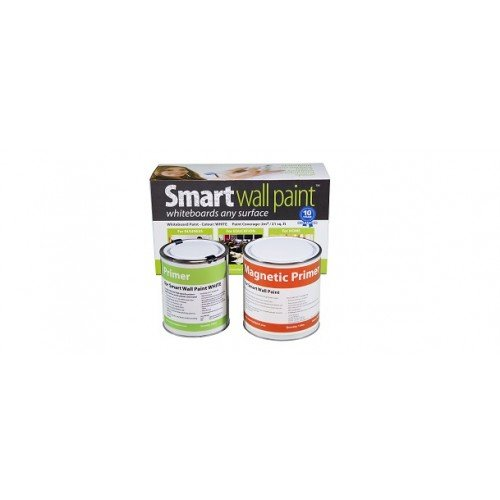 Magnetic & Dry-Erase Paint 36m² / 387ft² - Clear by Smarter Surfaces