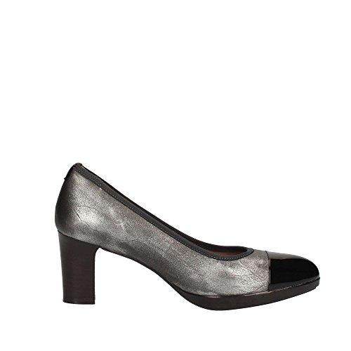 Melluso Zapatos 35 Negro De Mujer Tacón D5112a CCrwz0