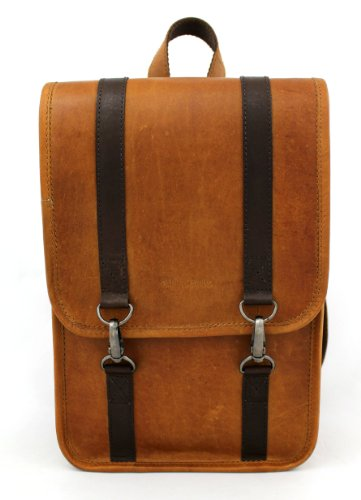 LE COURSIER mochila, bolsa de bicicleta, bolsa de IPAD, bolso de la cámara, bolso de mano de nuevo, marrón PAUL MARIUS Vintage & Retro