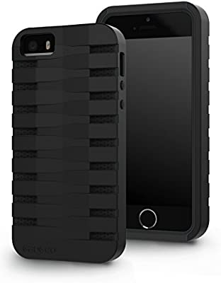 best sneakers b3c87 33fcf gadgeo iPhone SE / 5S / 5 Tough Heavy Duty Shock Proof Defender Case Cover  - Two Piece Protective Hard Case - Best iPhone 5 5S Strong Armour Hybrid ...