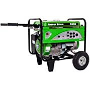 Lifan Energy Storm ES5500 5500-Watt Lifan 11 HP OHV 337cc 4-Stroke Gas Powered Portable Generator with Wheel Kit...