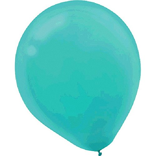 Plain Latex Balloons | Robin's Egg Blue | Pack of 50 | Party -