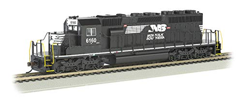 (Bachmann Trains EMD SD40-2 Dcc Ready Diesel Locomotive Norfolk Southern #6160 (Thoroughbred) - HO Scale, Prototypical Black)