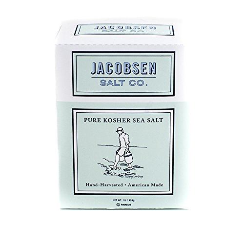 Traeger Pellet Grills & Jacobsen Salt Co. Pure Kosher Sea Salt, 1 Pound